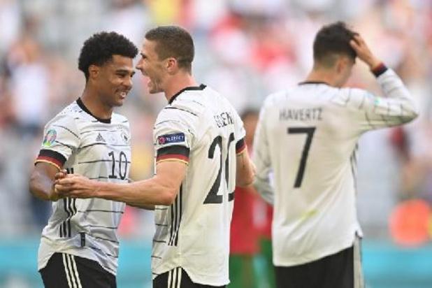 EK 2020 - Duitsland herpakt zich met 2-4 zege tegen titelverdediger Portugal