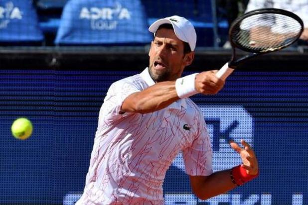 US Open - Novak Djokovic slaat bal tegen lijnrechter en wordt gediskwalificeerd