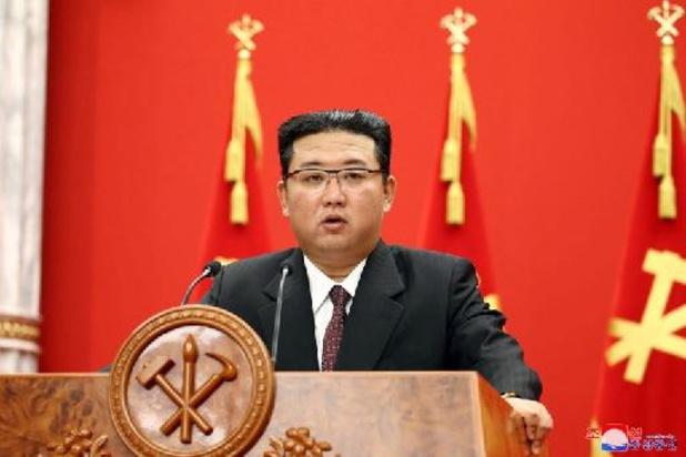 Kim Jong-un geeft sombere toestand van Noord-Koreaanse economie toe