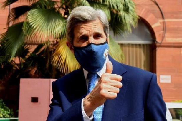 Amerikaanse klimaatgezant Kerry in China voor topoverleg