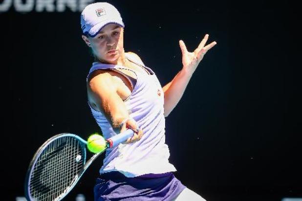 Ashleigh Barty affrontera Elina Svitolina en demi-finale