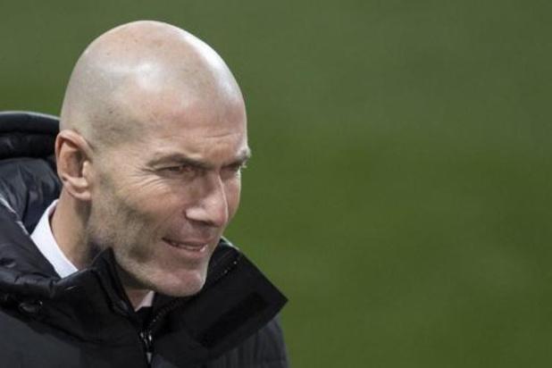 Real-coach Zidane is besmet met coronavirus