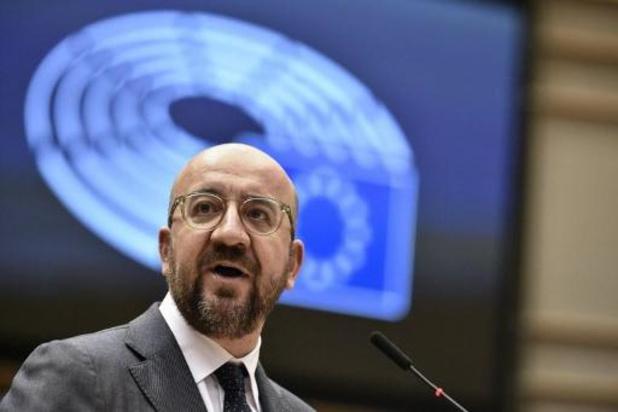 Europees president Charles Michel uit voorzorg in zelfisolatie