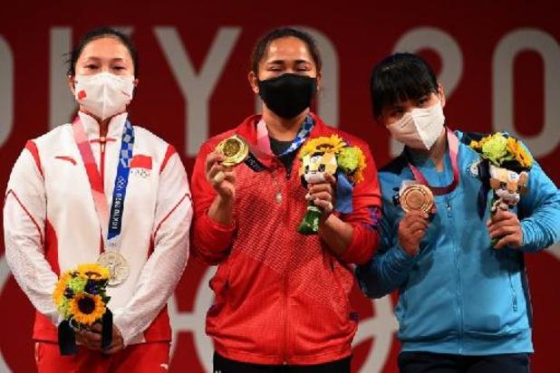 Gewichthefster Diaz bezorgt Filipijnen eerste olympische titel ooit