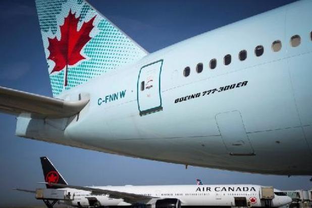 Coronavirus - Miljarden staatssteun voor Air Canada