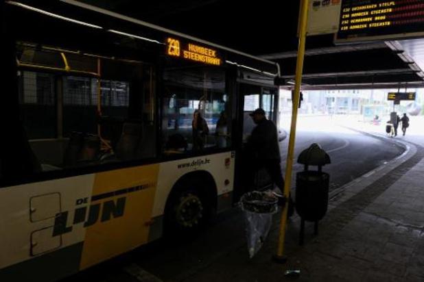 De Lijn neemt nieuwe busstation aan station Brussel-Noord in gebruik