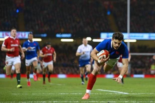 Six Nations - Troisième victoire de la France, victorieuse au Pays de Galles