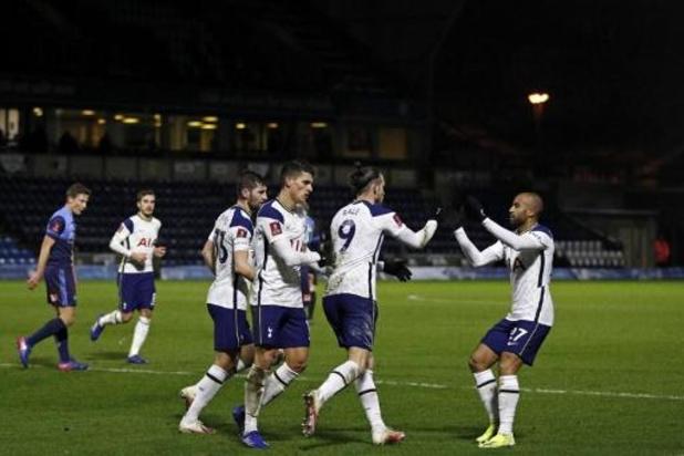 Les Belges à l'étranger - Tottenham, avec Alderweireld, vient à bout de Wycombe en fin de match