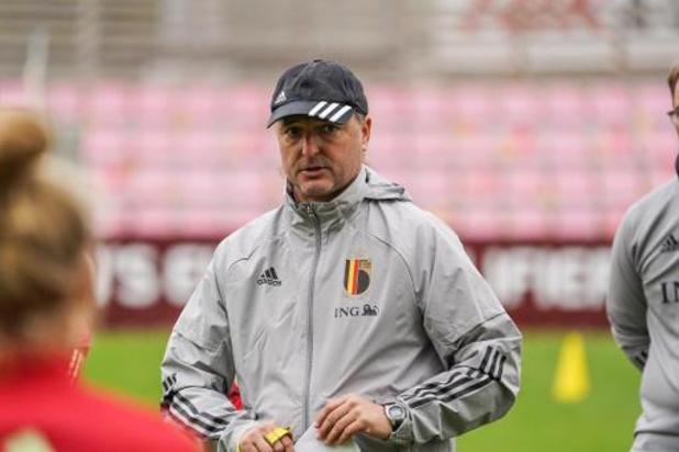 Bondscoach Serneels selecteert 26 Red Flames voor belangrijk duel met Zwitserland