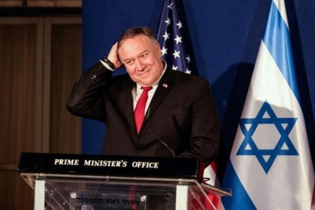 Pompeo als eerste Amerikaanse buitenlandminister op bezoek in Joodse nederzetting