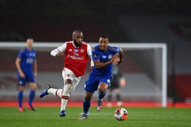 Les Belges à l'étranger - Accrochés à Arsenal, Leicester, Tielemans et Praet doivent laisser la 3e place à Chelsea
