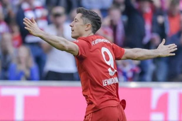 Bundesliga - Record en Bundesliga pour Lewandowski, buteur à chacune des 9 premières journées