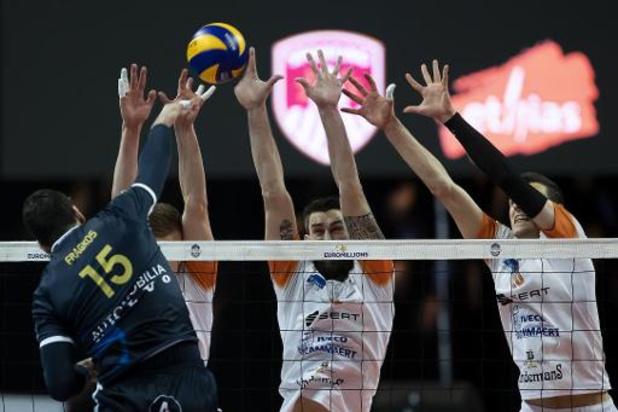 Maximum 1000 spectateurs lors des matches de l'EuroMillions Volley League