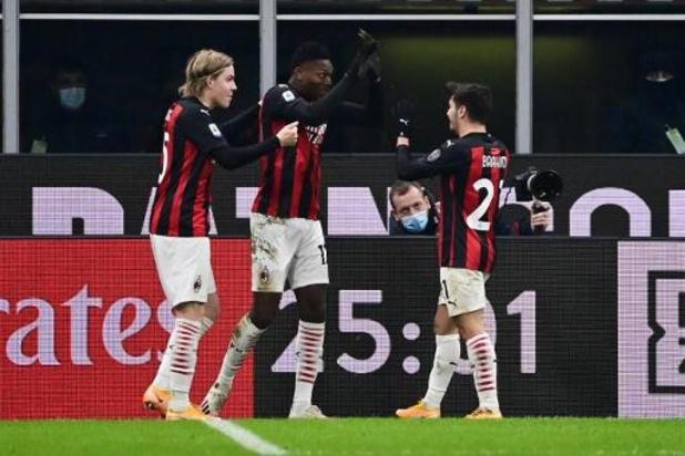 Serie A - Leider AC Milan laat geen steek vallen tegen Torino