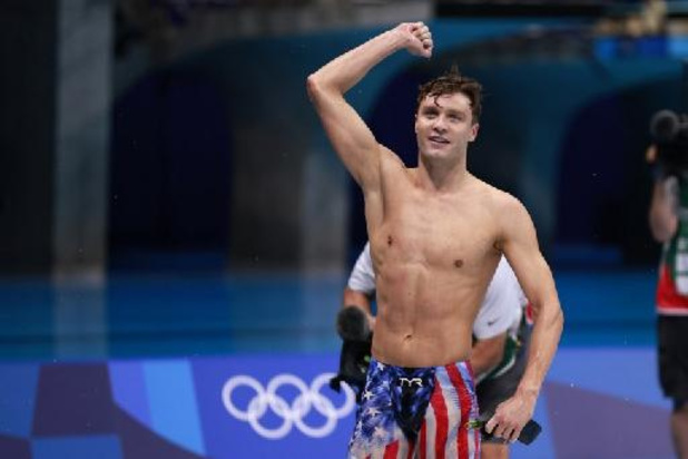 JO 2020 - Natation: l'Américain Robert Finke devient le premier champion olympique du 800 m libre