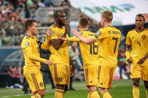 Rode Duivels - UEFA klaagt KBVB aan voor laat startuur en shirtverwisseling tegen Rusland