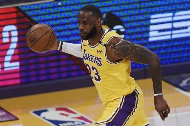 NBA - LA Lakers en Utah starten play-offs met valse noot