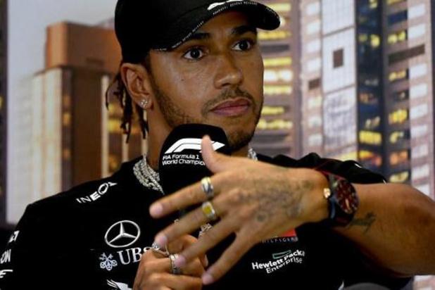 """Lewis Hamilton a retrouvé le volant d'une F1: """"Les sensations sont bonnes"""""""