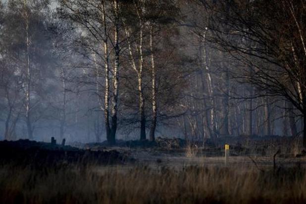 Brand op schietterrein Brecht veroorzaakt door uiterst brandbare fosforkogels