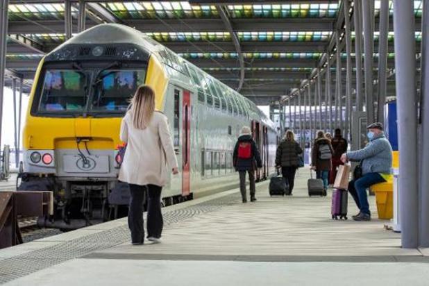 Beperkt treinaanbod naar zee door werken: NMBS vraagt andere bestemmingen te kiezen