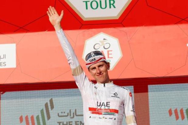 Tour des Emirats: Tadej Pogacar remporte la 5e étape, Adam Yates conserve la tête du général