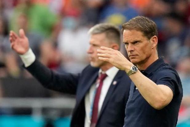 Frank de Boer stapt op als bondscoach van Nederland