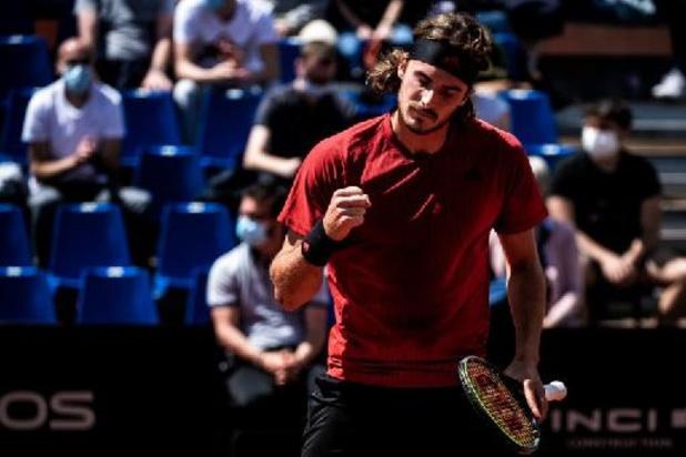 Stefanos Tsitsipas steekt zevende titel op zak