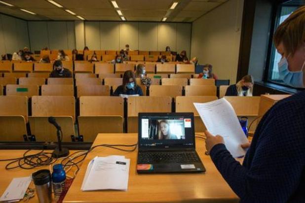 Taux d'occupation de maximum 20% dans l'enseignement supérieur