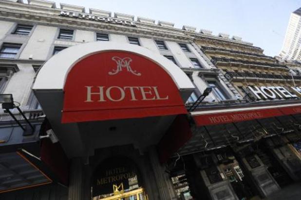 Eén Brussels hotel op de twee nog niet heropend