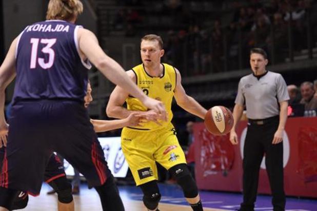 Euromillions Basket League - Bergen geeft zege uit handen, winst voor Oostende en Limburg United