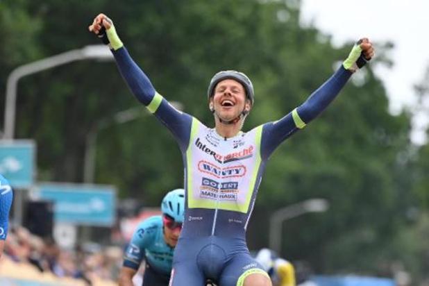 Tour du Benelux: Taco van der Hoorn s'offre la 3e étape, Stefan Bisseger reste leader