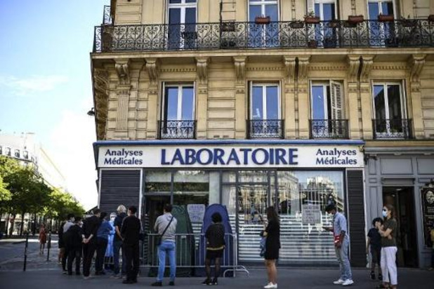 Bijna 9.000 nieuwe besmettingen in Frankrijk - nieuw record