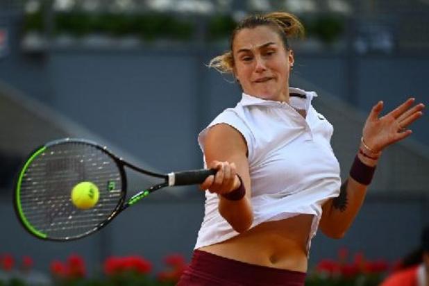 """WTA Madrid - Sabalenka, sur l'abandon de Mertens : """"Je frappais et elle ne bougeait plus"""""""