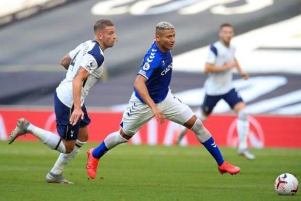 Belgen in het buitenland - Tottenham en Toby Alderweireld gaan de boot in bij Everton op openingsspeeldag