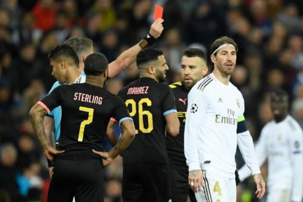 Champions League - Ramos met vierde rode kaart naast Davids en Ibrahimovic