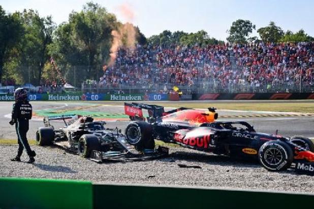 Verstappen et Hamilton convoqués par les commissaires de course au terme du GP d'Italie