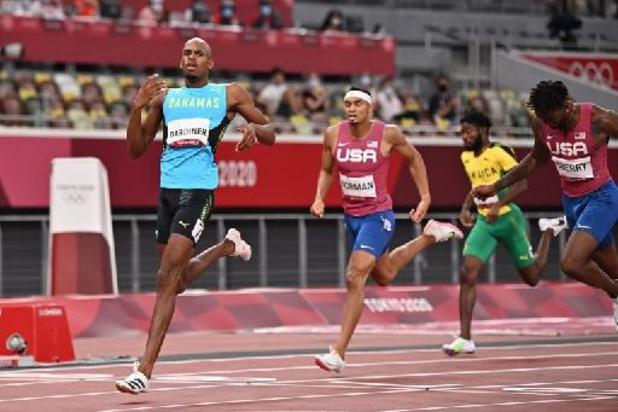 Steven Gardiner is olympisch kampioen op 400m