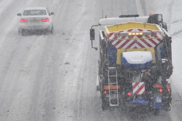 Les prévisions météo pour les routes flamandes fournies par l'IRM cet hiver