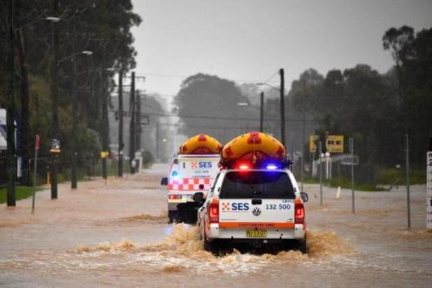 Bijkomende evacuaties in westen van Sydney wegens overstromingsgevaar