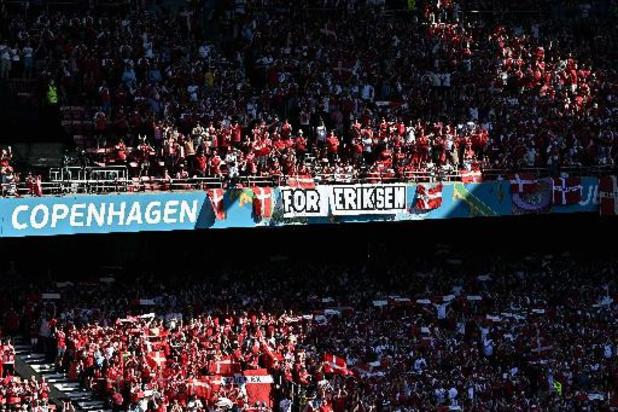 Le Parken a rendu un vibrant hommage à Christian Eriksen