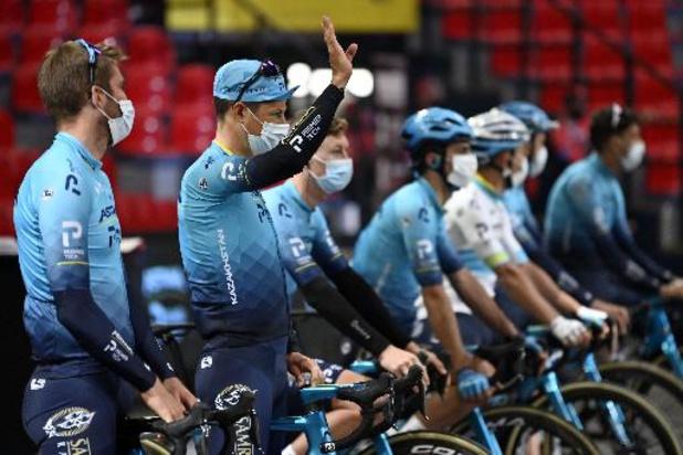 Premier Tech se retire comme co-sponsor de l'équipe cycliste Astana