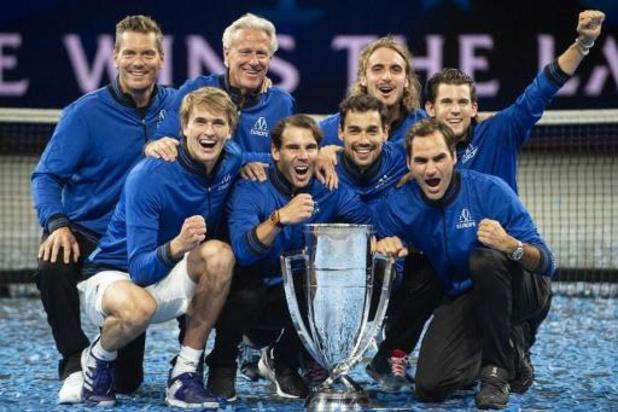 Team Europa kan volgend jaar weer op Dominic Thiem rekenen bij Laver Cup