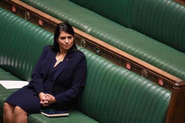 Boris Johnson soutient sa ministre de l'Intérieur, accusée de harcèlement