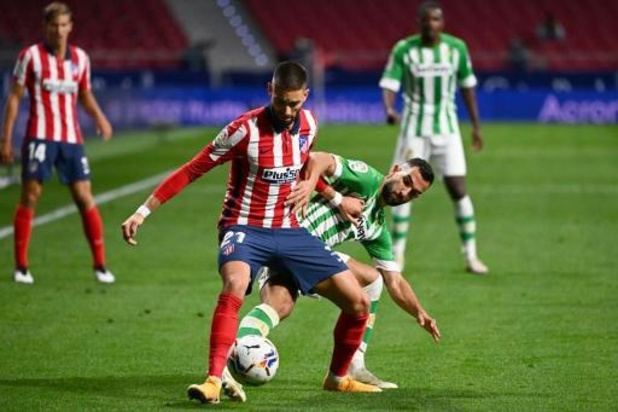 Yannick Carrasco (Atlético Madrid) is out met spierblessure in rechterdij