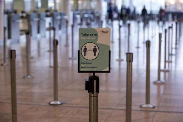 Les tests se généralisent à Brussels Airport