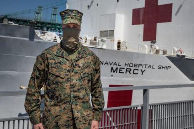 """Coronavirus - Ziekenhuisschip """"USNS Mercy"""" vertrekt weer uit Los Angeles"""
