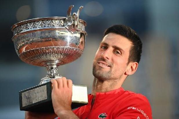 Classement ATP: Djokovic toujours N.1 mondial après Roland-Garros, Tsitsipas prend la 4e place, Goffin 13e