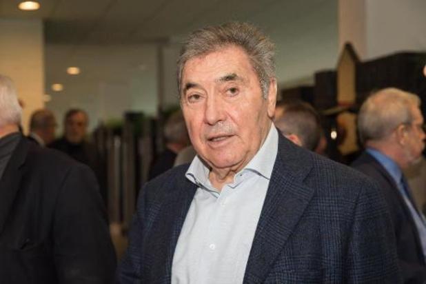 Eddy Merckx, élu leader de l'année aux Lobby Awards 2019