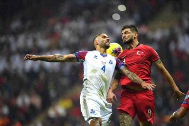 La Turquie et la France qualifiées après le partage des Turcs contre l'Islande