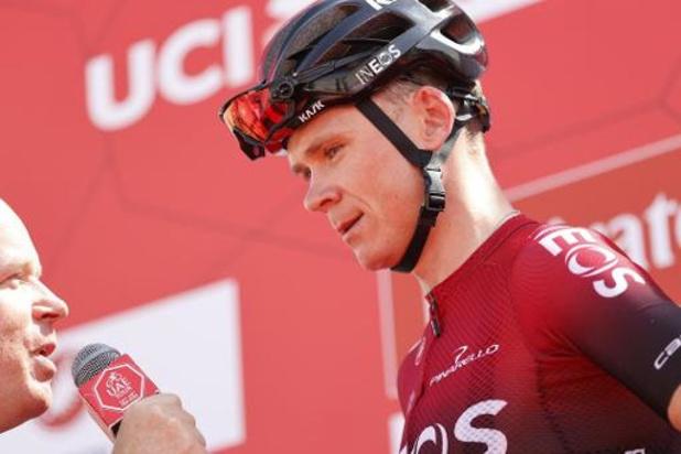 """""""Le report du Tour pourrait avantager Froome"""", selon Dave Brailsford, le patron d'Ineos"""